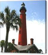 Ponce Lighthouse Canvas Print