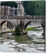 Ponte Sant'angelo Canvas Print