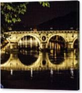 Ponte Sisto Canvas Print