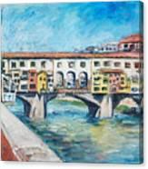 Pontevecchio Canvas Print