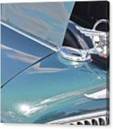 1933 Pontiac Eight Hood Ornament Canvas Print