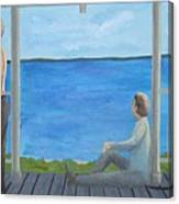 Porch People Canvas Print