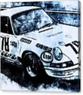 Porsche Carrera Rsr, 1973 - 03 Canvas Print