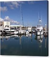 Port Canaveral Florida Usa Canvas Print