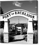 Port Of Excelsior Canvas Print