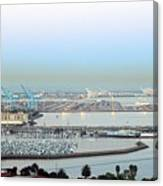 Port Of Los Angeles 0570 Canvas Print