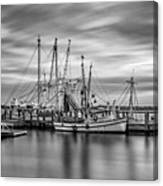 Port Royal Shrimp Boats Canvas Print