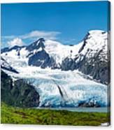 Portage Glacier Canvas Print
