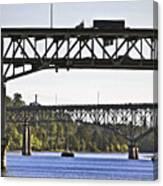 Portland Port104 Canvas Print