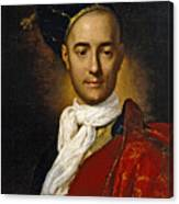Portrait Of A Young Nobleman Canvas Print