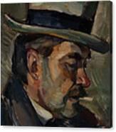 Portrait Of Artist Karnakoski Canvas Print