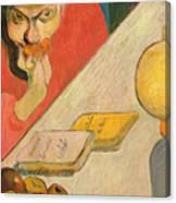 Portrait Of Jacob Meyer De Haan Canvas Print