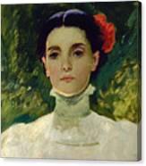 Portrait Of Maggie Wilson Canvas Print