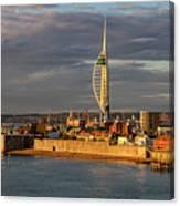 Portsmouth Harbour England  Canvas Print