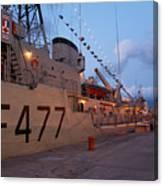 Portuguese Navy Frigates Canvas Print