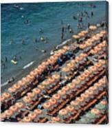 Positano Beach Canvas Print