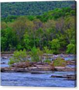 Potomac River Near Harpers Ferry Canvas Print