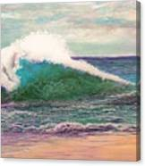 Powerful Sea Canvas Print