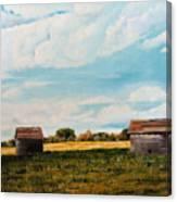 Prairie Homestead Canvas Print