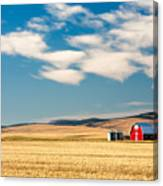 Prairie Red Canvas Print