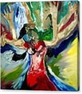 Praise Dance Canvas Print