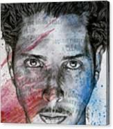 Pretty Noose - Tribute To  Chris Cornell Canvas Print