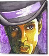 Prince Canvas Print