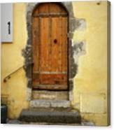 Provence Door Number 6 Canvas Print