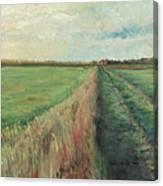 Provence Villa Canvas Print