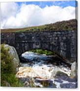 Ps I Love You Bridge In Ireland Canvas Print