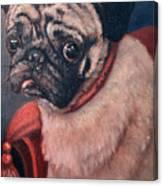 Pugsy Canvas Print