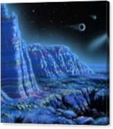 Pulsar Planets II Canvas Print
