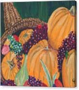 Pumpkin Plenty Canvas Print
