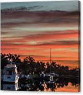 Punta Gorda From Bal Harbor Canvas Print