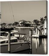Punta Gorda From Marion Canvas Print