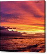 Purple Sunset Canvas Print