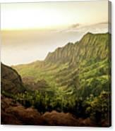 Puu O Kila Lookout, Kauai, Hi Canvas Print