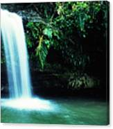 Quebrada Juan Diego Waterfall Canvas Print