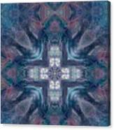 Queen Fairy Cross Canvas Print