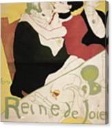Queen Of Joy Canvas Print