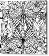 Queen Of Spades 2 Canvas Print