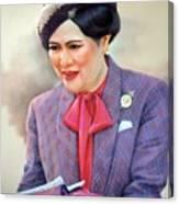 Queen Sirikit Canvas Print