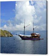 Silent Diving Bay On The Coast Of Sulawesi Canvas Print