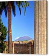 Quiet Vesuvius Canvas Print