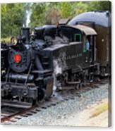 Quincy Railroad No. 2 Canvas Print