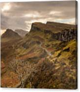 Quiraing Skye Canvas Print