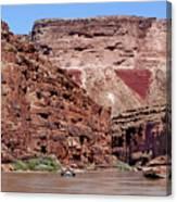Rafting The Colorado Canvas Print