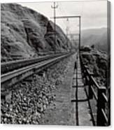 Railroad Canvas Print