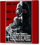 Rainbow Six Canvas Print