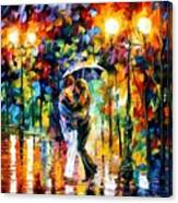 Rainy Dance Canvas Print